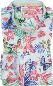 Koszula Colours & Sons z bawełny z nadrukiem ze stójką