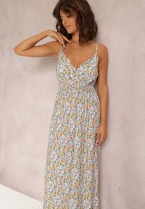 Sukienka Renee z dekoltem w kształcie litery v na ramiączkach maxi