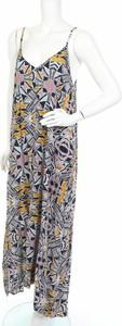 Sukienka Sussan z dekoltem w kształcie litery v maxi