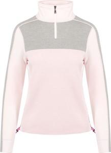 Różowy sweter Bogner z wełny