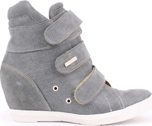 Buty sportowe Zapato na rzepy na koturnie