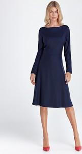 Sukienka Colett z długim rękawem midi