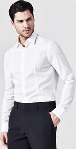 Koszula Guess z bawełny z klasycznym kołnierzykiem
