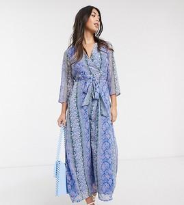 Niebieska sukienka Y.a.s Petite