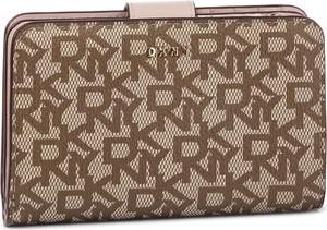 Brązowy portfel DKNY