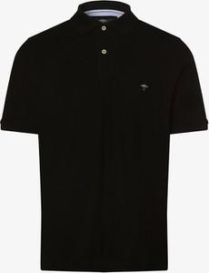 Czarna koszulka polo Fynch Hatton w stylu casual