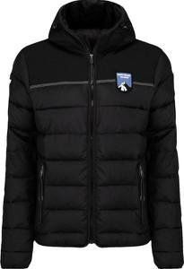 Czarna kurtka Napapijri krótka w sportowym stylu