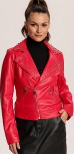 Czerwona kurtka Renee krótka