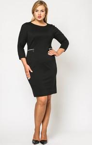 173d5b568f mała czarna sukienka dla puszystych - stylowo i modnie z Allani