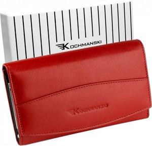Czerwony portfel Kochmanski Studio Kreacji® w stylu casual