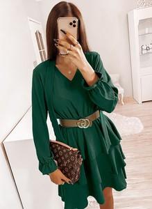 Zielona sukienka Pakuten