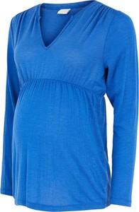 Mama Licious Bluzka ciążowa w kolorze niebieskim