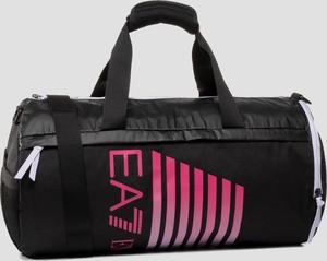 Czarna torba sportowa Emporio Armani