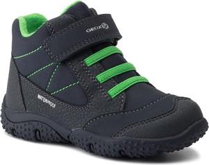 Buty dziecięce zimowe Geox z plaru na rzepy
