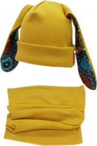 Żółty komplet dziecięcy Bexa