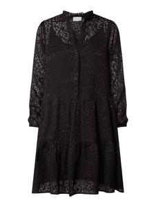 Sukienka Neo Noir w stylu casual koszulowa
