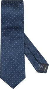Niebieski krawat Joop! z jedwabiu