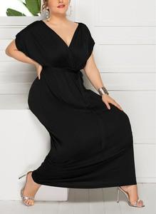 Czarna sukienka Sandbella maxi