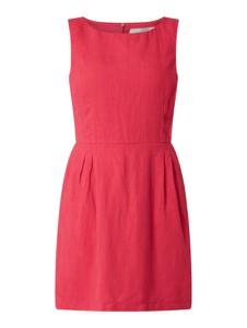 Różowa sukienka Joseph Janard z lnu bez rękawów