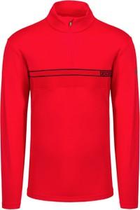 Czerwony sweter Descente