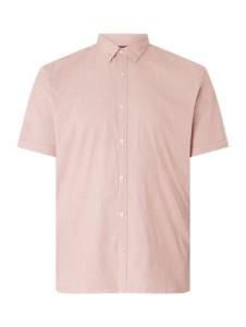 Koszula S.oliver Plus z klasycznym kołnierzykiem w stylu casual z bawełny