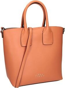 Pomarańczowa torebka NOBO matowa w wakacyjnym stylu