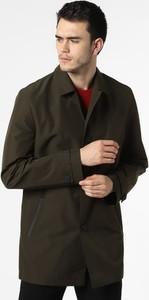 Zielony płaszcz męski Hugo Boss