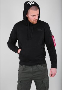 Czarny sweter Alpha Industries