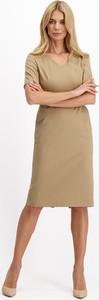Sukienka Lavard z długim rękawem w stylu casual