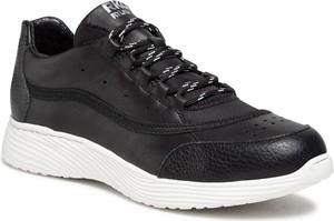 Buty sportowe Ryłko ze skóry sznurowane