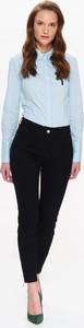 Czarne spodnie Top Secret w stylu casual