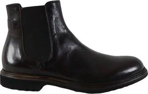 Czarne buty zimowe Crispiniano