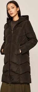 Czarna kurtka Medicine długa w stylu casual