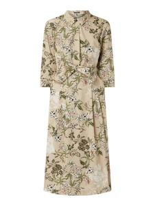 Sukienka Marc O'Polo z bawełny w stylu casual z kołnierzykiem