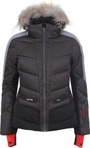 Czarna kurtka Icepeak krótka w stylu casual
