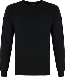 Czarny sweter Roberto Cavalli z kaszmiru