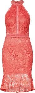 Sukienka Lipsy bez rękawów z tkaniny midi