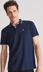 Koszulka polo Reserved w stylu casual