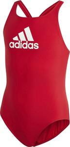 Czerwony strój kąpielowy Adidas