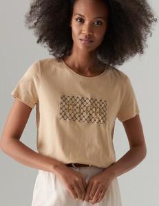 T-shirt Mohito w stylu casual z bawełny z krótkim rękawem