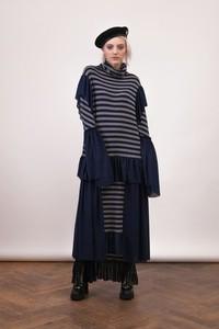 Sukienka Girl Little Boy oversize z bawełny z długim rękawem