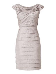 Sukienka Christian Berg Cocktail z krótkim rękawem prosta