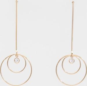 Reserved - Długie kolczyki na sztyft - Złoty