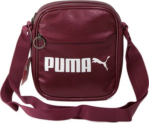 Czerwona torba Puma ze skóry ekologicznej
