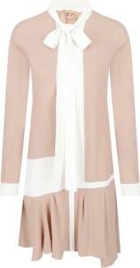 Sukienka N21 z długim rękawem mini w stylu casual