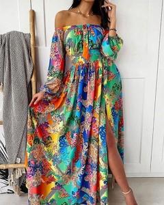 Sukienka Kendallme z długim rękawem hiszpanka
