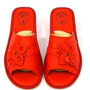 Czerwone klapki Wójciak Podhale