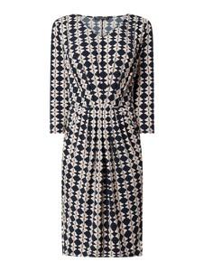 Sukienka Betty Barclay mini z dekoltem w kształcie litery v z długim rękawem