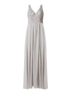Sukienka Laona z szyfonu na ramiączkach maxi