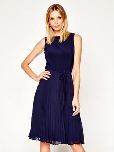 Sukienka Ralph Lauren bez rękawów rozkloszowana